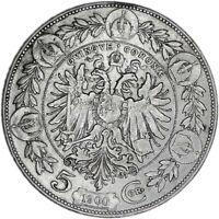 AUSTRIA coin 5 Corona 1900 VF Very Fine