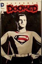 SUPERMAN DOOMED #1 ORIGINAL ART SKETCH NM GEORGE REEVES JUSTICE LEAGUE BATMAN
