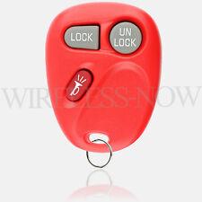 Car Key Fob Keyless Entry Remote Red For 1999 2000 2001 GMC Sierra