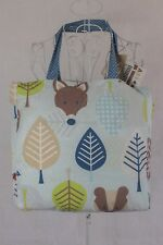 """""""Little Chipipi"""" Organic Baby Cot Quilt. Bonus Carry Bag. Great Condition. NWT!"""