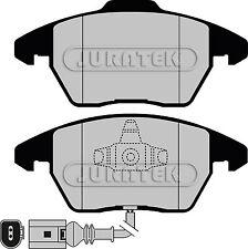 Front Juratek Brake Pads Seat ALTEA 2.0 TDI 140 16v Diesel MPV 138bhp 2004-
