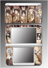 Attack on Titan Shingeki no titan Anime Manga Video Game Skin Nintendo 3DS XL