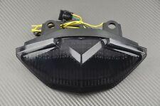Feu stop arrière fumé clignotants intégrés Kawasaki Z1000 2010 2011 2012
