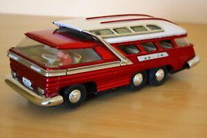 Vintage metal toy car length 30cm, width 12cm, height 11cm