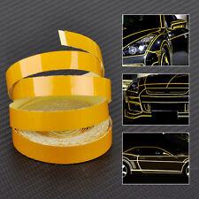 5M x 1cm Yellow Car Body Reflective Tape Self Adhesive DIY Stripe Sticker Decals
