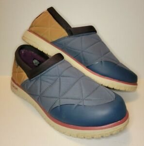 L.L Bean 511763 Ultralight PrimaLoft Waterproof Insulated Slip-On Shoes Size 10