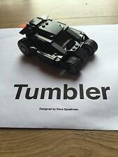 Custom Built LEGO Tumbler Batmobile