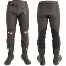 Leather Knee RST Motorcycle Trousers