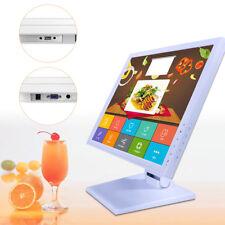"17"" LED Touch screen Monitor REGISTRATORI DI CASSA POS kassenmonitor VENDITA DHL"