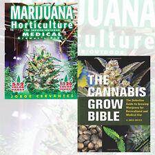 Jorge Cervantes 2 Books Set Horticulture Bible Collection Cannabis Gro New AU PB
