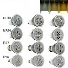 Dimmable LED Spotlight Bulbs E27 GU10 MR16 E14 12W 9W 85-265V Light Lamps XHG026