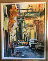 Beautiful Contemporary  Oil Painting Of Spain
