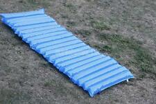 Large Inflatable Float Swimming Pool Lounger Lilo Sun Beach Air Mat Bed Blue