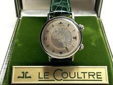 automatic lecoultre memodate alarm worldtime timepiece