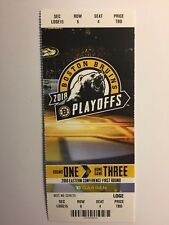 BOSTON BRUINS VS TORONTO MAPLE LEAFS 1ST ROUND GAME 3 APRIL 21, 2018 TICKET STUB