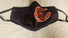 Chicago Bears Face Mask w/ Breather Valve Football NFL Team Facemask
