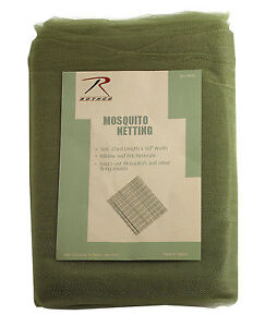 Mosquito Netting - G.I. Type  Olive Drab - 20 Yards by 5 feet - Rothco 8089
