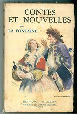 LA FONTAINE CONTES ET NOUVELLES NILSSON 1931 BIBLIOTHEQUE PRECIEUSE
