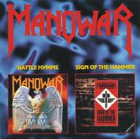 Manowar – Battle Hymns / Sign Of The Hammer     - CD