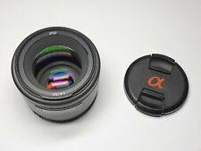 Sony Alpha AF SAL50F14 50mm f/1.4 A-Mount Lens