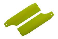 KBDD Neon Yellow 61mm Tail Rotor Blades - Trex 450 Blade 450 X #4017