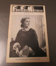 1971 FILM FAN MONTHLY #124 FN- Olivia De Havilland in Gone With The Wind