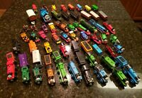 Vintage Mixed Wooden/Metal Lot Of 64 Thomas The Train & Friends Set Cars Engines