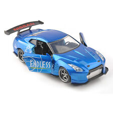 1/32 Scale JADA Alloy Diecat Blue 2009 Nissan GT-R (R35) Car Collection Toy