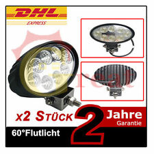 2X24W Oval LED Arbeitsscheinwerfer SUV Motorrad Jeep Beleuchtung Offrorad Rallye