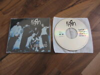 KORN Good God OOP 1997 EUROPEAN CD single 3 live tracks