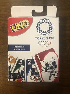 Tokyo 2020 Olympics UNO Card Game