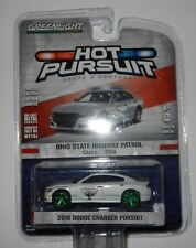 Greenlight 42810-E 2016 Dodge Charger Ohio State Highway Patrol 1:64 Scale CHASE