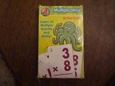 Vintage A+ Flash Cards (36) Multiplication