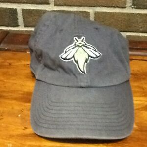 Columbia Fireflies Faded Gray Youth Hat Baseball '47 Brand Adjustable MiLB SC