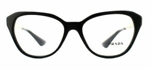 Prada PR28SV Glasses Black 1AB1O1 54mm