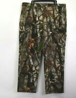 NEW Cabela's Men XL Classic Fit Camo Camouflage Hunting Leaves Trees Cargo Pants