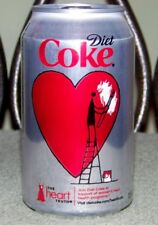 NM 2012 USA LE DIET COKE HEART TRUTH 12 oz 355 mL BOTTOM-DRAINED EMPTY SODA CAN