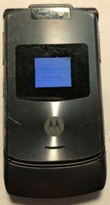 READ FIRST Motorola RAZR V3xx Gray (AT&T) Cellular Phone Good Used