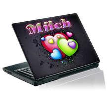 TaylorHe Calcomanía Vinilo Piel Etiqueta Engomada de la portátil personalizada con tu nombre P112