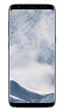 Samsung Galaxy S8 SM-G950F - 64GB - Arctic Silver (Ohne Simlock) Smartphone (SM-G950FZSADBT)