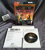 The Dagger of Amon Ra Original Roberta Williams Sierra PC Big Box Game - RARE