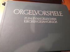 Orgelvorspiele zum Evangelischen Kirchengesangbuch Orgelnoten Orgelbuch