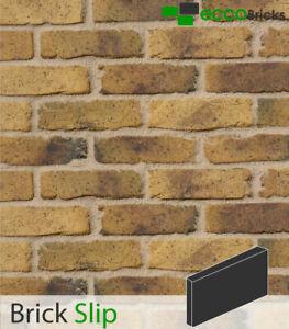 Antique Peckham Yellow Brick Slip Decorative Wall Cladding - Geniune Handmade