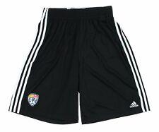 Adidas FBU Men's Football University Climalite Practice Shorts, Black