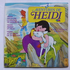 3 disc book adventures of heidi serie tv cartoon mc Barrault alb 6049