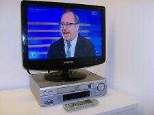 LG LV2775 videoregistratore VHS HQ 6 testine stereo HiFi + telecomando PERFETTO