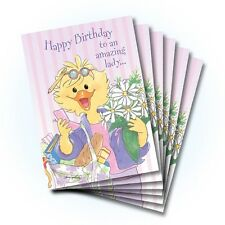 Suzy's Zoo Happy Birthday Greeting Card 6-pack 10373