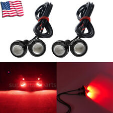 4x Waterproof LED Rock Light ATV SUV Off-Road Truck Underbody Trail Rig Red