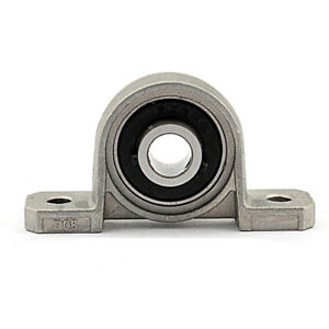 1X12mm Pillow Block Bearings Flange Bore Auto Self Adjust Center Mounted Support