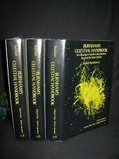 1978 Classic astronomy bookset - Burnham's Celestial Handbook Robert Burnham